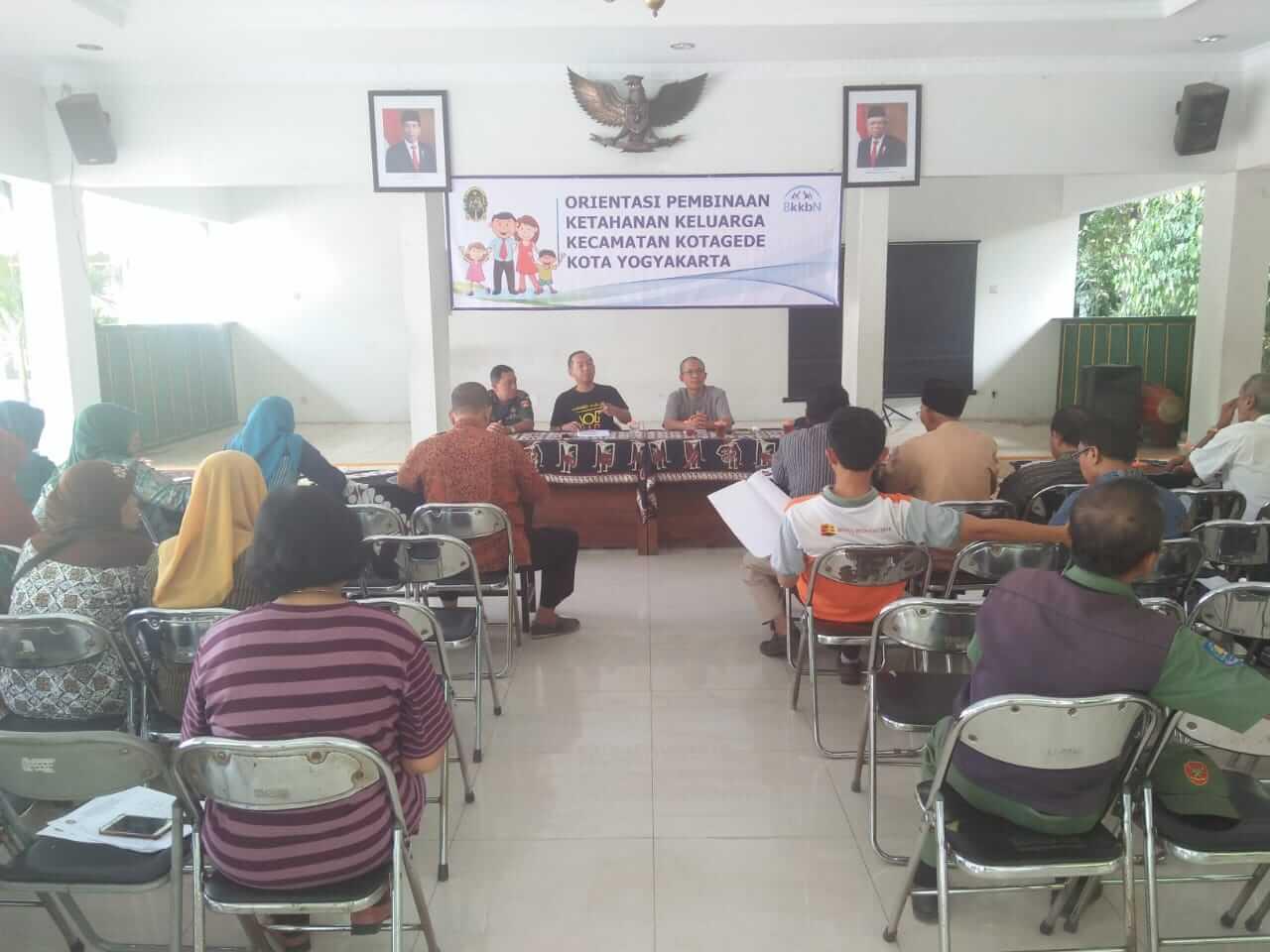 orientasi ketahanan keluarga kecamatan kotagede yogyakarta